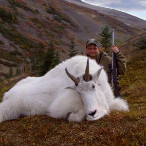 Jakt Canada Mtn Goat med jeger