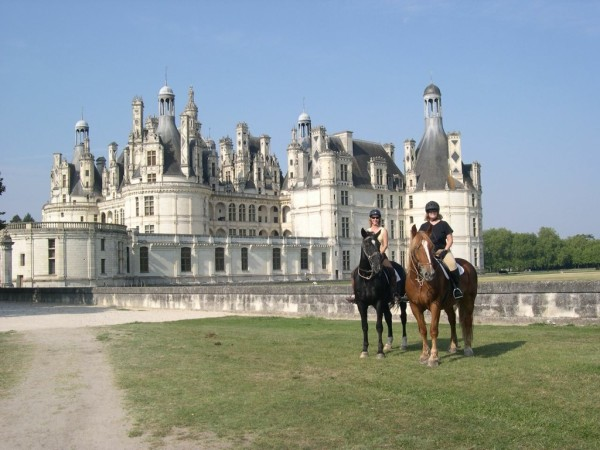 Rideferie-Frankrike-Loiredalen-Chambord