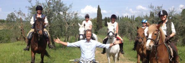 Rideferie_Italia_Chianti undervisning